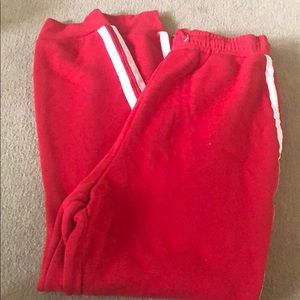 Windsor Red Stripped Joggers